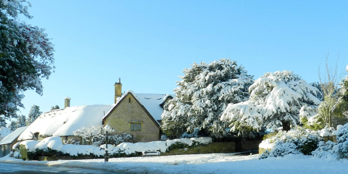 cotswold charm at Christmas