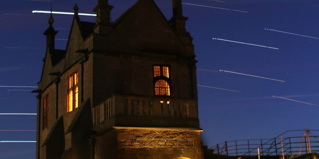 cotswold charm chipping campden night sky